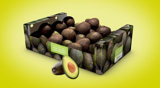 Efficient avocado packaging for export